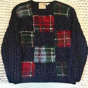 40% OFF Liz Claiborne hand-knitted sweater